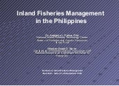 006 Pr 05 Management Of Inland Fish...