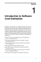 Introduction to Software Cost Estim...