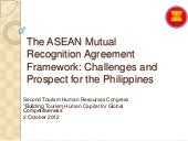 The ASEAN Mutual Recognition Agreem...