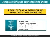 Introducción al marketing online pa...