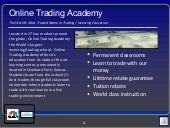 Learn To Trade with Online Trading ...