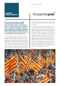 Spanish Politics - Catalan Independence