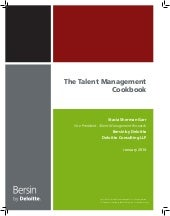 The Talent Management Cookbook: Rec...