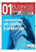 01 Business&Technologies n°2108 | Sommaire complet