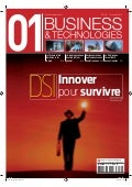 01Business&Technologies n°2112 : DSI, innover pour survivre | Sommaire complet