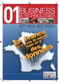 01Business&Technologies n°2113 : Dossier Open Data | Sommaire complet