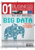01Business&Technologies n°2117 : Dossier Big Data | Sommaire complet