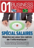 01Business&Technologies n°2149 - Spécial Salaires 2012