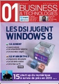 01 business&technologies n°2155 - Les DSI jugent Windows 8