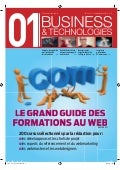 01Business&Technologies n°2141 - Guide des formations au Web