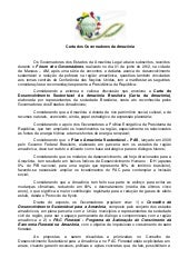 Carta dos governadores
