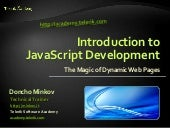 01 Introduction - JavaScript Develo...