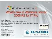 What's New In Windows Server 2008 R...