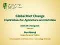 Global Diet Change Implications for Agriculture and Nutrition
