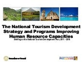 The National Tourism Development St...