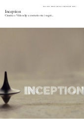 Inception: Film e Videoclip a conta...