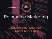 #1NLab14: Reimagine Marketing