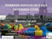 Towards psychologically informed cities