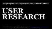 02 Fundamentals of UX Workshop: User Research