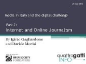 Internet and Online Journalism in I...