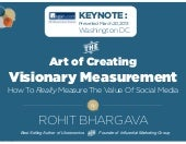How To Create Visionary Measurement For Social Media