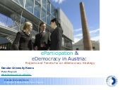 Austrian E Democracy Strategy