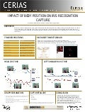 (Fall 2012) Impact of Body Position on Iris Recognition Capture