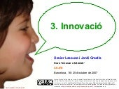 Curs 'Innovar x Internet!'. Part 4/...