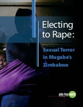 Electing to Rape: Sexual Terror in ...