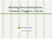 PSU - Beating Procrastination
