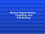 04 marketing segmentation,targeting...