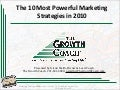 The 10 Most Powerful Marketing Strategies in 2010
