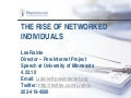 Networked Individuals