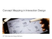 Concept Mapping in Interaction Design