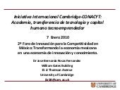 Iniciativa Internacional Cambridge-...