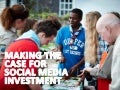 Social media – the risk of not investing enough. Making the case for comms workshop, 22 October 2014