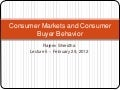 05. consumer buyer behavior