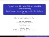 Allocation and Dynamic Efficiency i...