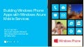 Windows Phone 8 and Azure Mobile Services