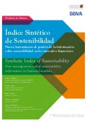 Programa Workshop Indice Sintetico ...