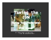 Taming The JVM