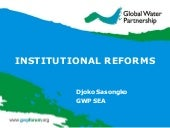 GWP South East Asia Supporting Inst...