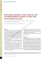 06 acute coronary syndromes is ther...