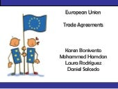 Trade Agreements of The European Co...