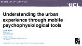 Understanding the urban experience through mobile psychophysiological tools