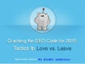 [500DISTRO] Cracking the SEO Code: Tricks & Tactics To Magnify Search Visibility