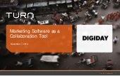 Software as a Collaboration Tool - DBS, 12/7/14