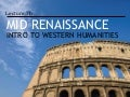 Introduction to Western Humanities - 7b Mid and Northern Renaissance