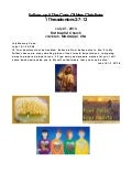 07 July 21, 2013 1 Thessalonians 2;7 12, Follow-up & The Care Of New Christians