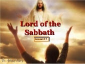 07 lord of the sabbath